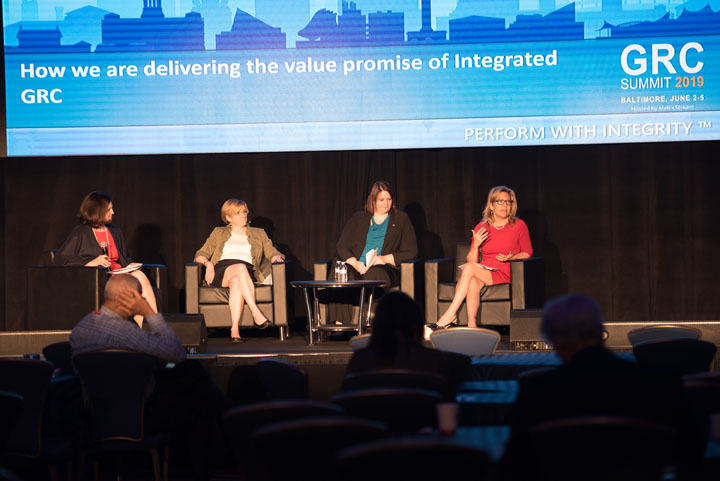 How we are delivering the value promise of Integrated GRC Panel Discussion