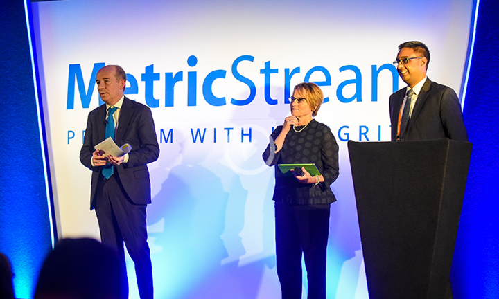 Connect with MetricStream Leadership By Andreas Diggelmann, 'Office of the CEO', Interim CEO & CTO, MetricStream and Gaurav Kapoor, 'Office of the CEO', & COO, MetricStream
